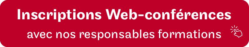 Bouton Inscription web conférences des JPO alternance au Cnam Hauts de France, semaine de l'alternance