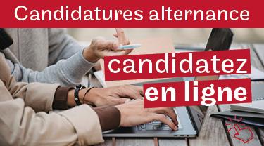 Alternance, candidatez en ligne