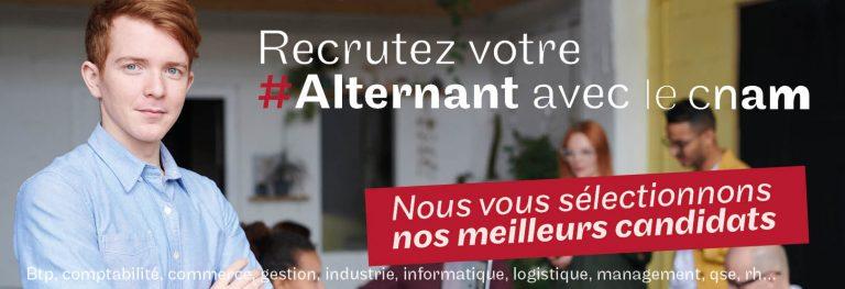 Recruter en alternance avec le Cnam Hauts de France, en apprentissage et contrat de professionnalisation