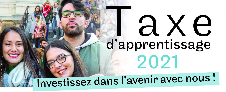 Versez votre Taxe d'apprentissage 2021 au Cnam Hauts de France. Cette contribution nous permet de développer des formations innovantes, les compétences de demain
