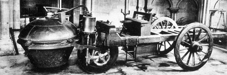 Fardier à vapeur de Nicolas Joseph Cugnot - © Musée des arts et métiers - Cnam / Michèle Favareille